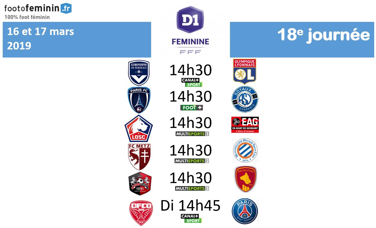 #D1F - J18 : le programme