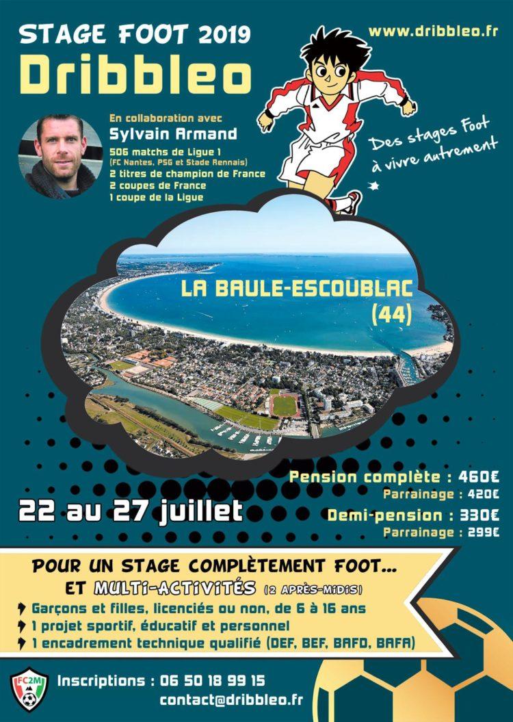 Les stages Dribbleo débarquent à La Baule avec Sylvain Armand