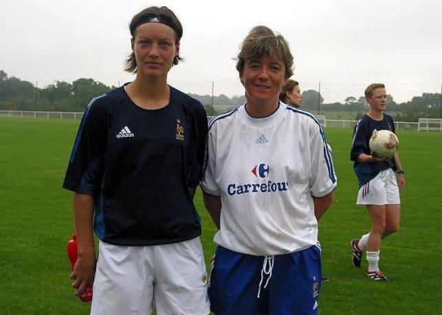 Diacre et Loisel lors de la préparation en 2003 (photo archive footofeminin)