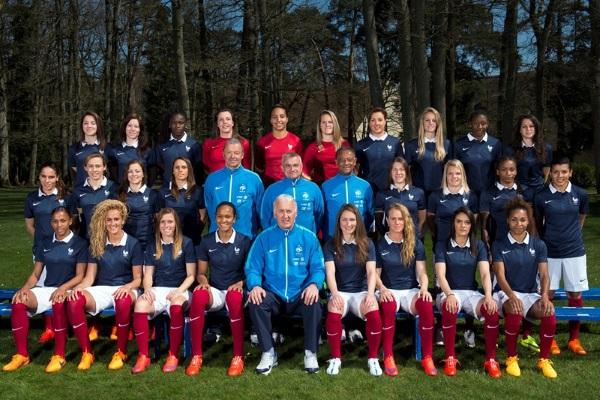 Les joueuses de la Coupe du Monde 2015 (photo FFF)