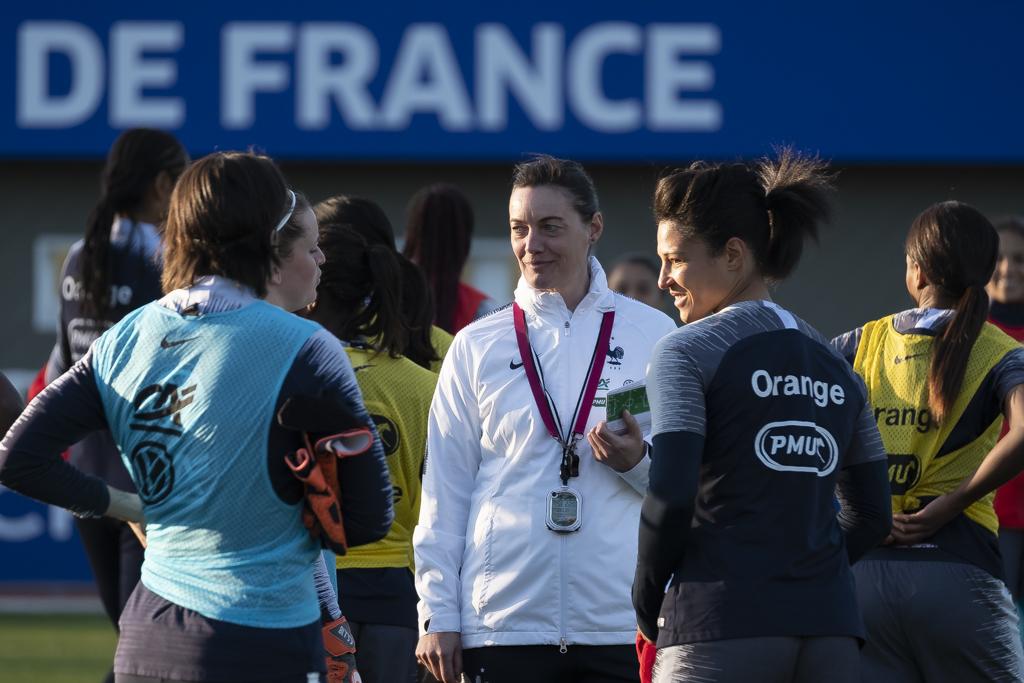 Diacre et les Bleues rejoindront Clairefontaine à partir du 13 mai (photo Eric Baledent)