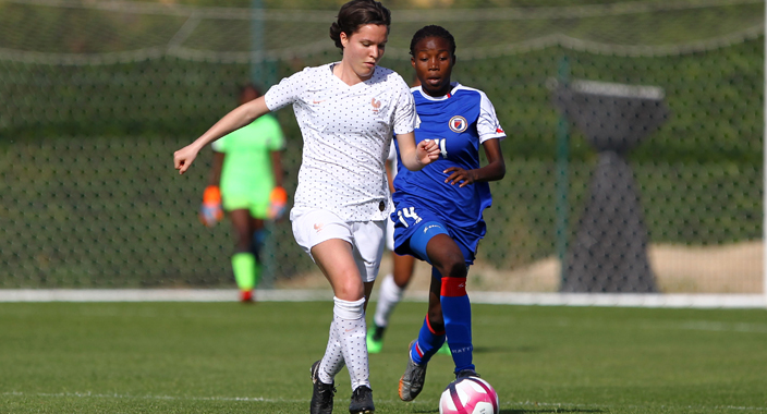 Sud Ladies Cup - La FRANCE s'impose largement face à Haïti