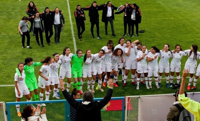 Les Portugaises qualifiées dans le dernier carré (photo UEFA.com)