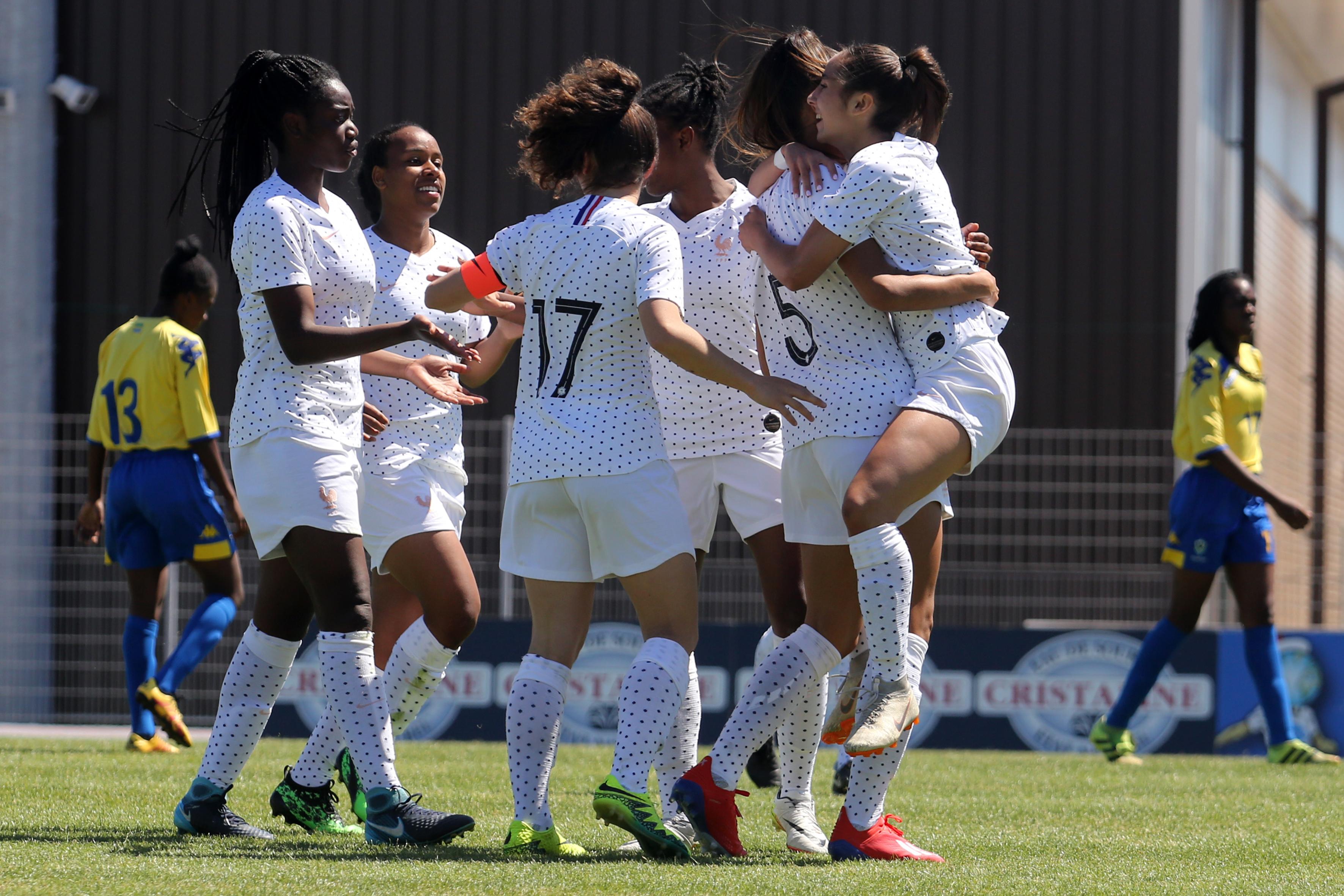 Six buts inscrits mais une prestation mitigée (photo Sud Ladies Cup)
