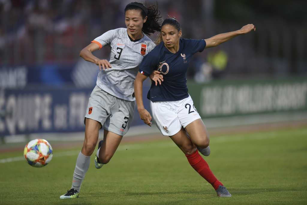 Bleues - FRANCE - CHINE : le match en photos