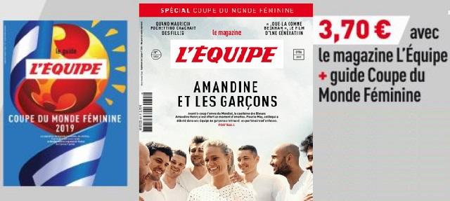 Coupe du Monde - Le magazine L'EQUIPE spécial Coupe du Monde avec un supplément ce samedi