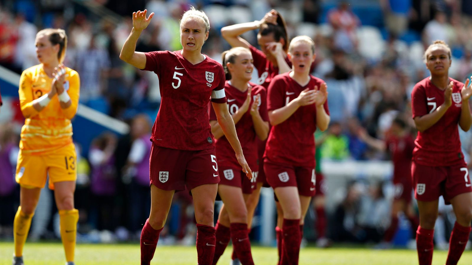Houghton et l'Angleterre se défient ce dimanche