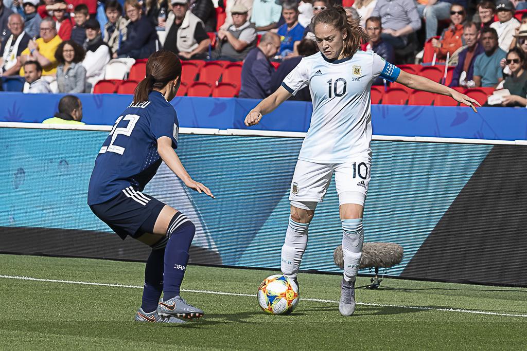 Estefania Banini et l'Argentine ont tenu bon (photo Eric Baledent/FOF)
