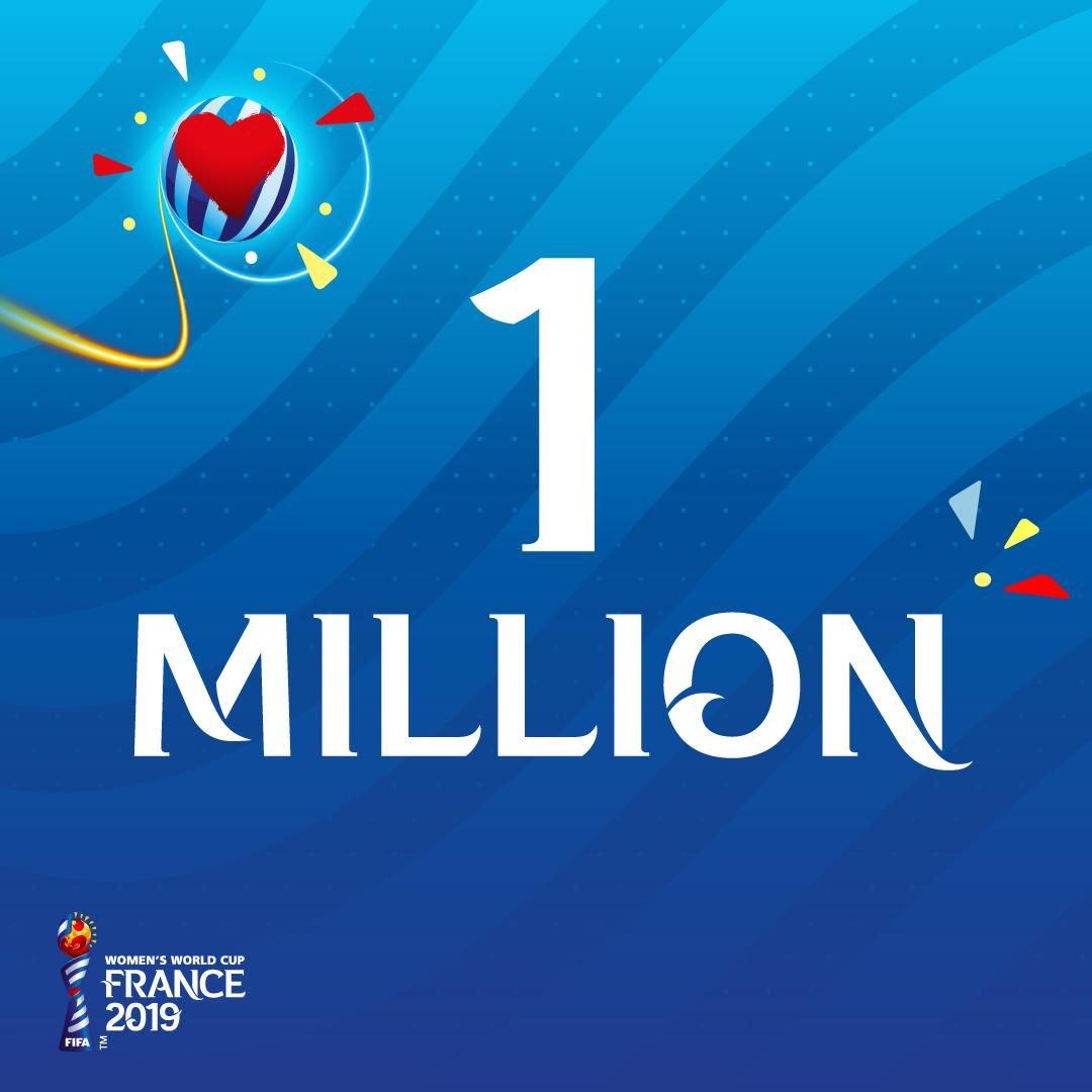 Coupe du Monde - Le million de billets vendus atteint