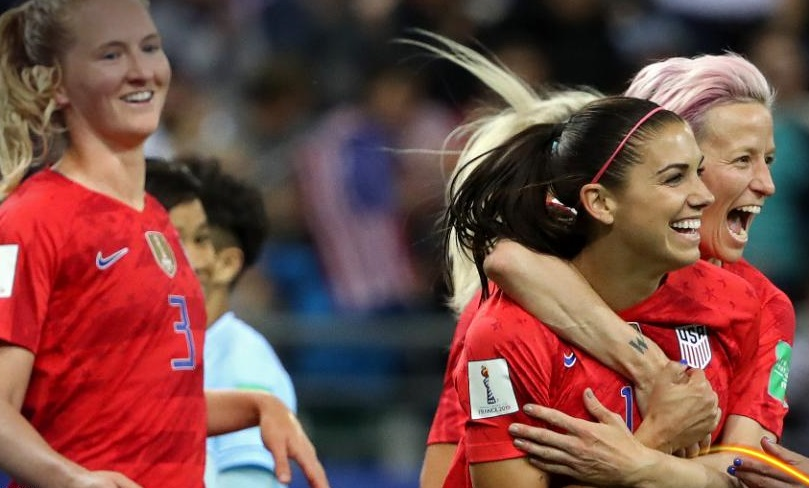Alex Morgan a fait le show (photo FIFA.com)