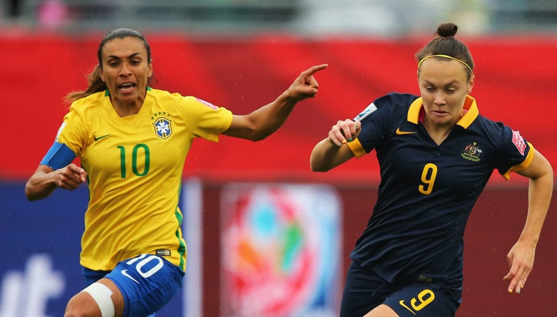 Le Brésil de Marta jouera l'Australie battue lors de son premier match (photo FIFA.com)