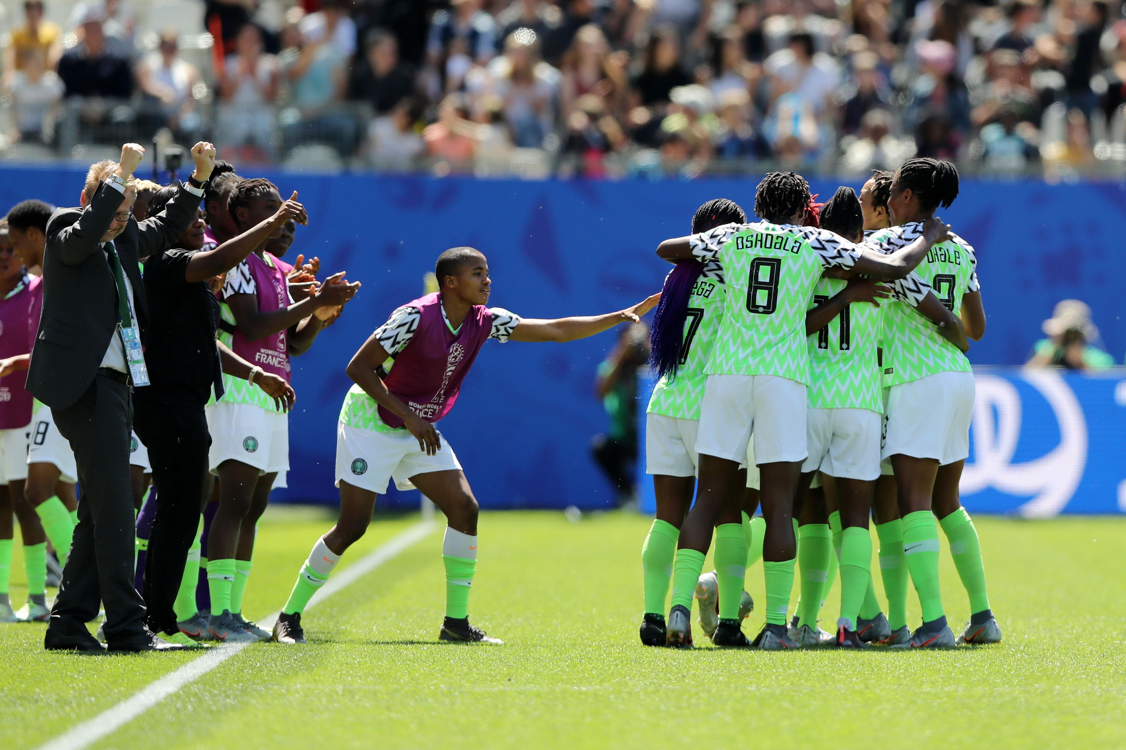Les Nigerianes gagnent le match qu'il fallait (photo FIFA.com)