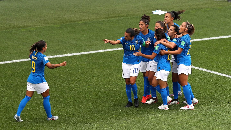 Marta avait pourtant donné l'avantage au Brésil