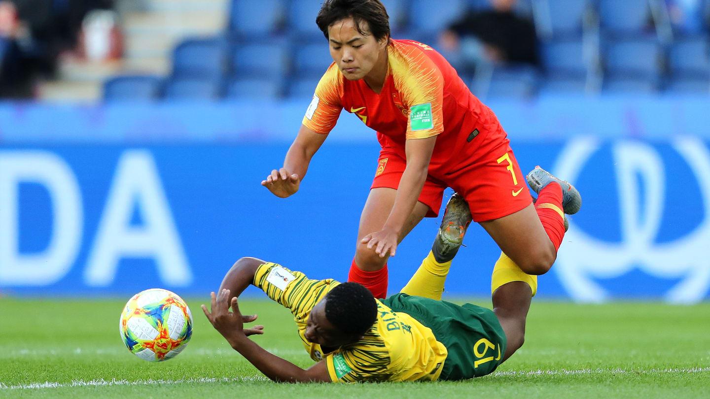 La Parisienne Wang Shuang évoluait pour la première fois au Parc des Princes (photo FIFA.com)