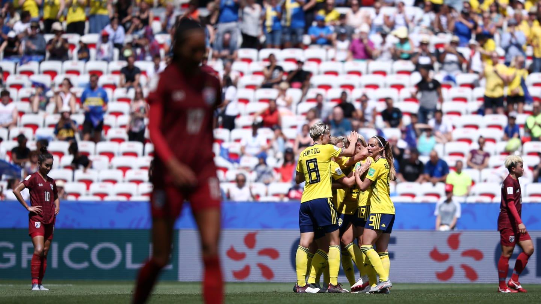 Les Suédoises ont géré (photo FIFA.com)