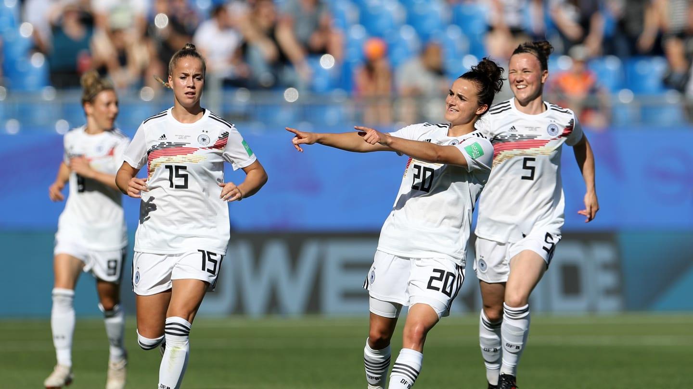 Les Allemandes ont déroulé (photo FIFA.com)