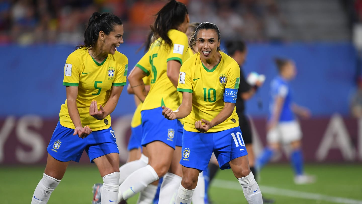 Marta recordwoman (photo FIFA.com)