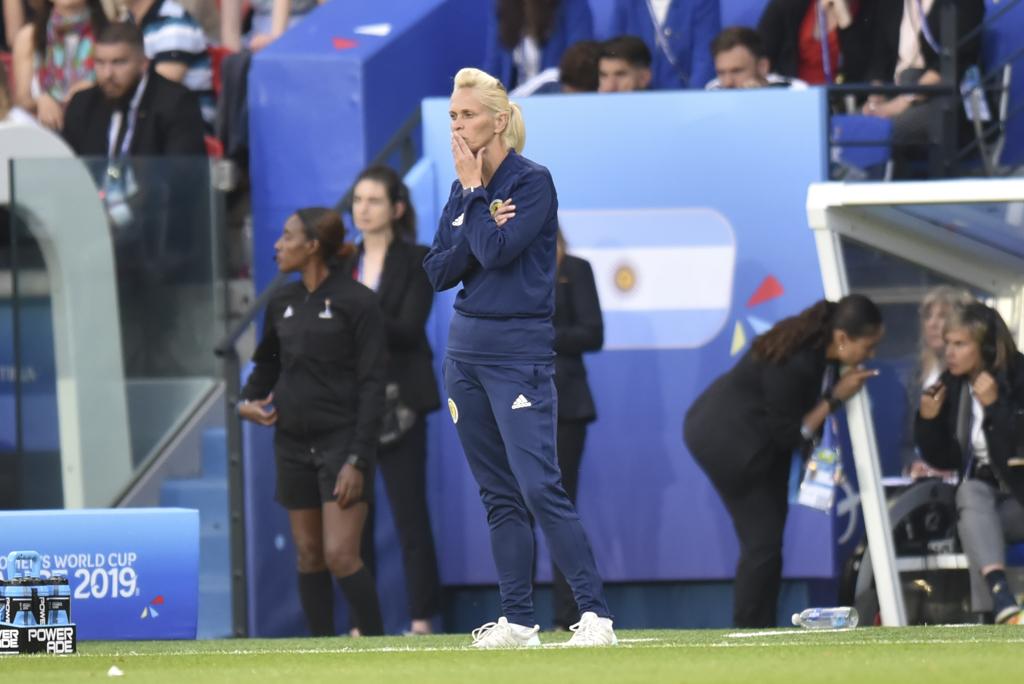 Shelley Kerr, la coach écossaise