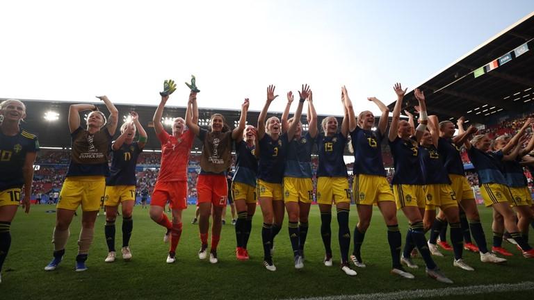 Les Suédoises ont sorti l'Allemagne en quart (photo FIFA.com)