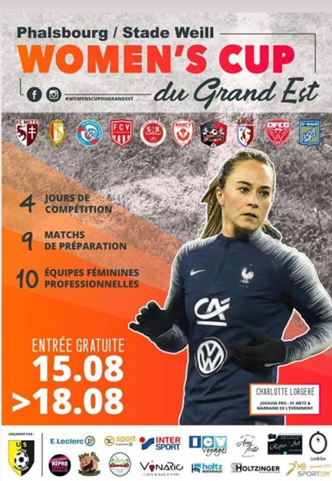 Women's Cup du Grand Est - Quatre jours, 10 équipes, 10 matchs