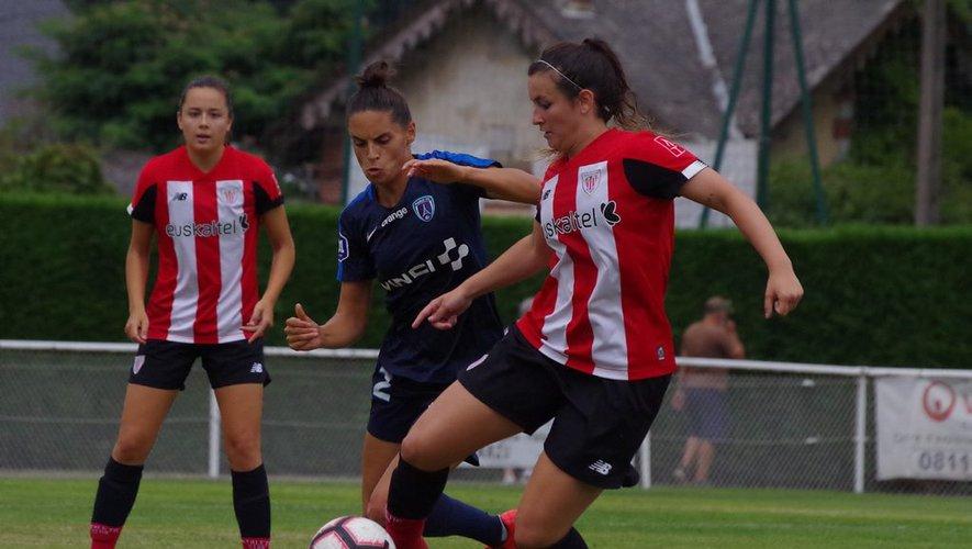 Vaysse au centre lors de la victoire face à Bilbao (photo Athletic)