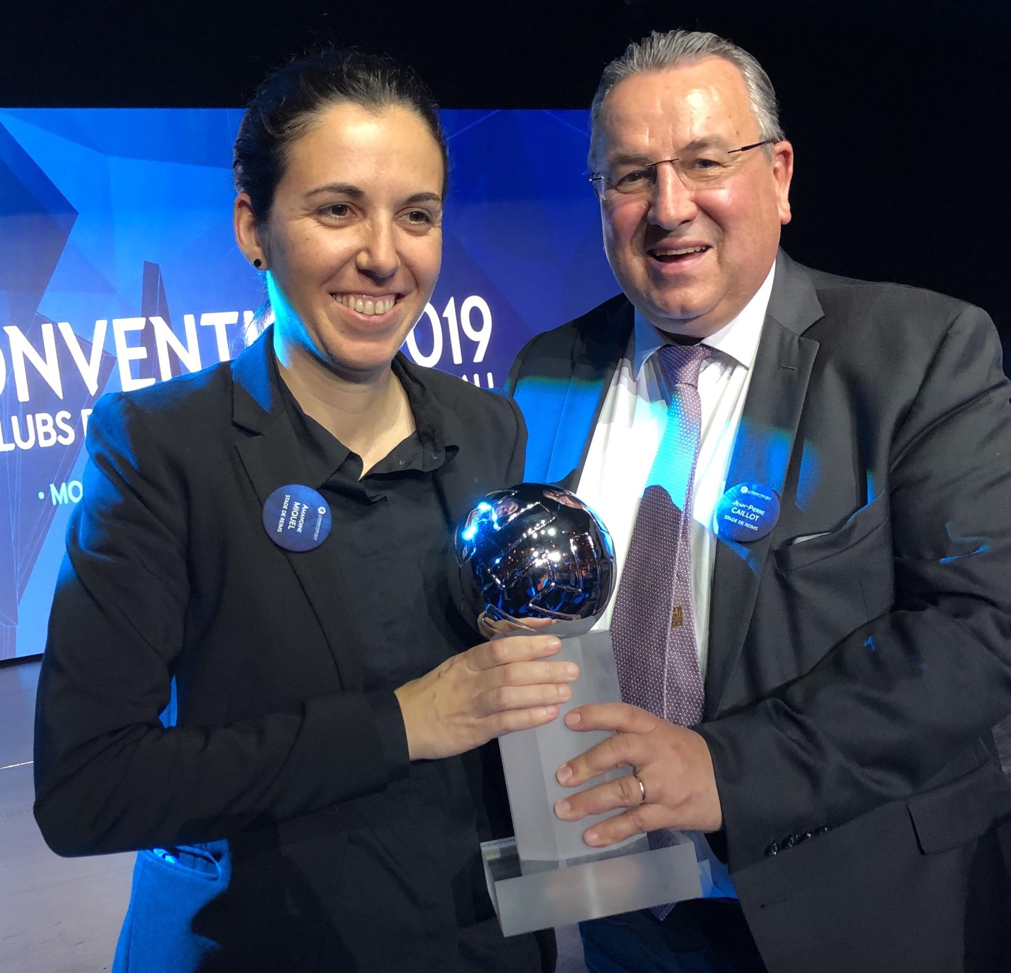 Amandine Miquel, élue meilleure entraîneure de D2 (photo SDR)