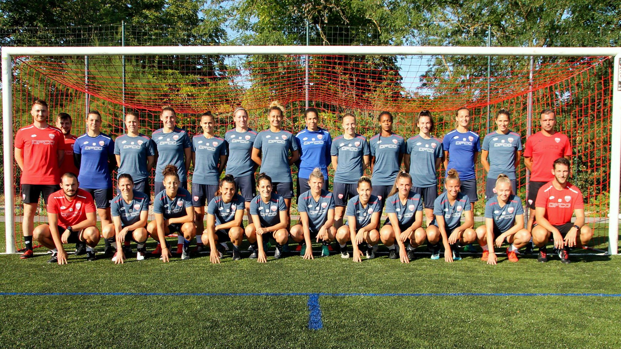 Le groupe 2019-2020 (photo DFCO)