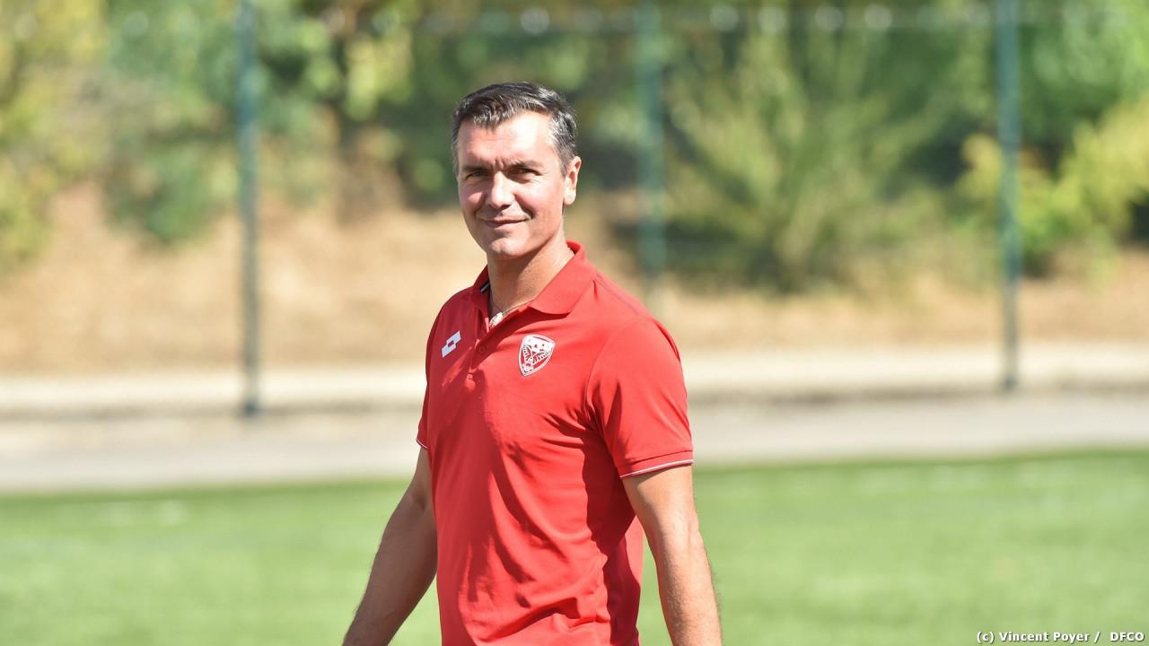 Chandioux, l'entraîneur dijonnais (photo DFCO)