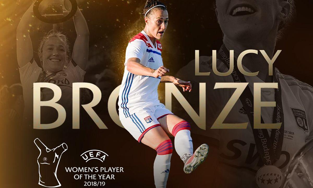 Joueuse UEFA de la saison - Lucy BRONZE élue