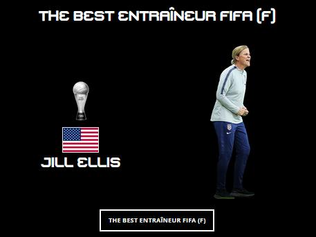 """Cérémonie FIFA """"The Best"""" - HENRY et RENARD lauréates dans le XI FIFPro, RAPINOE meilleure joueuse"""