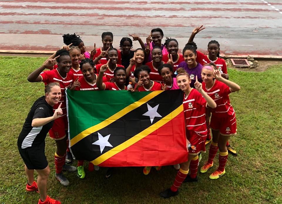 St Kitts and Nevis qualifié