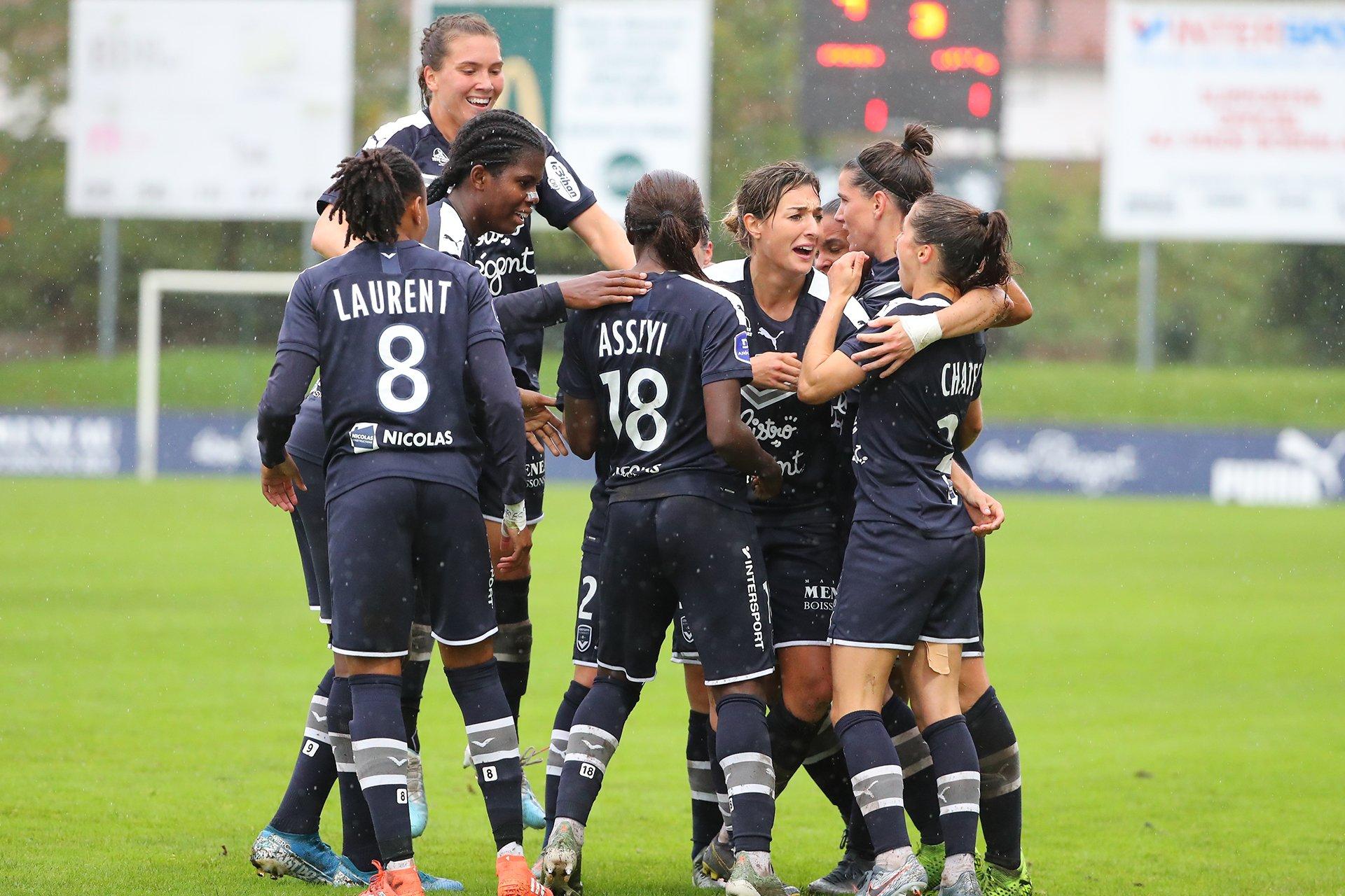 Les Bordelaises remportent le derby (photo FCGB)