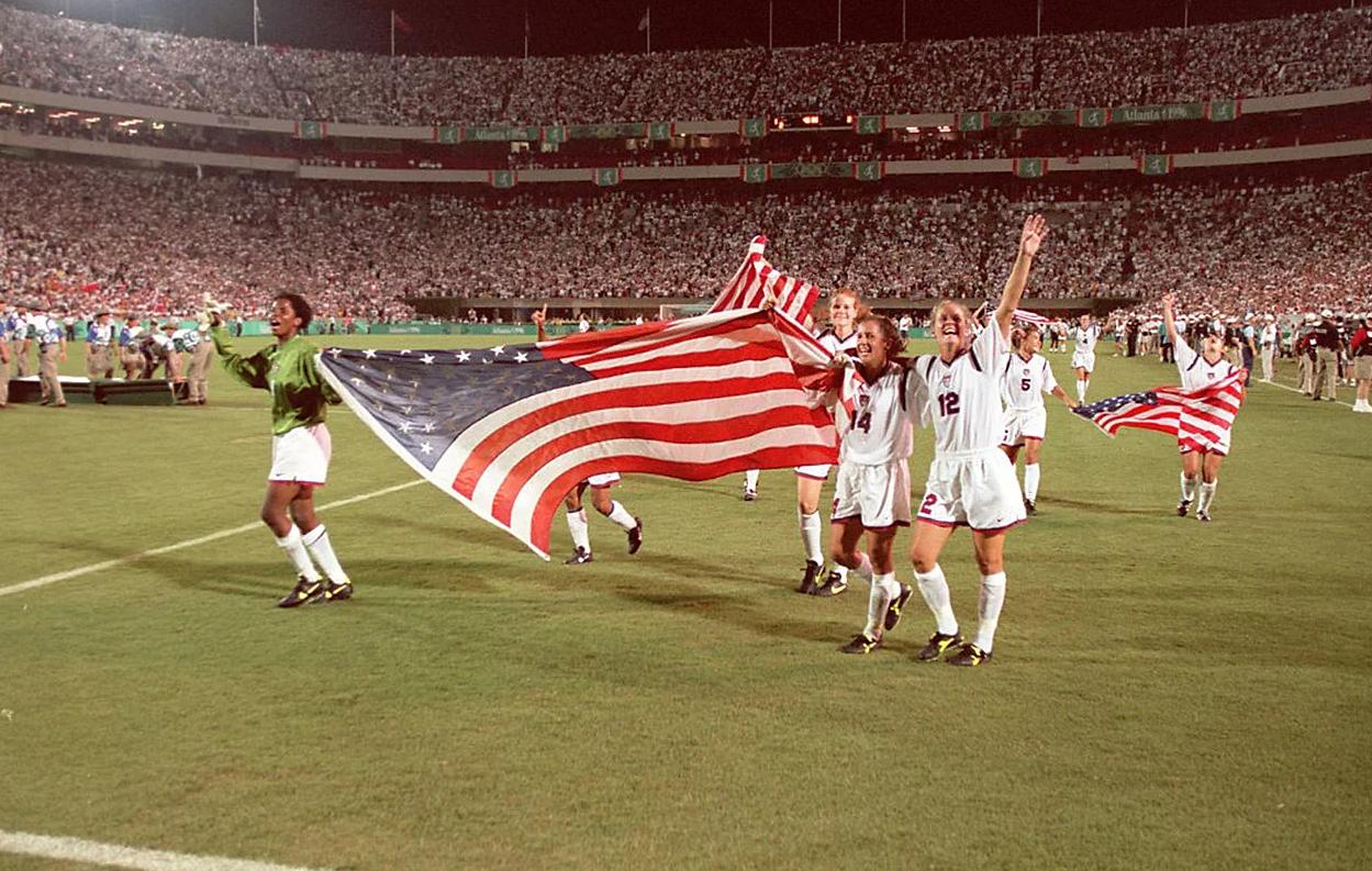 La finale des JO 1996, un premier record en match officiel