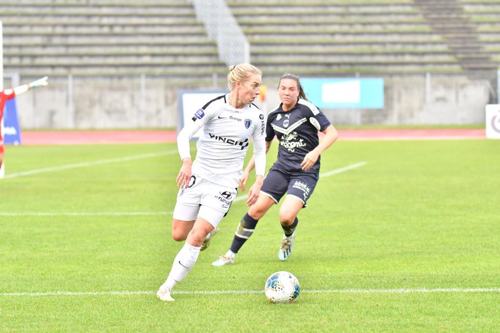 Sällström et l'attaque du PFC sont restées de nouveau muettes (photo Paris FC)