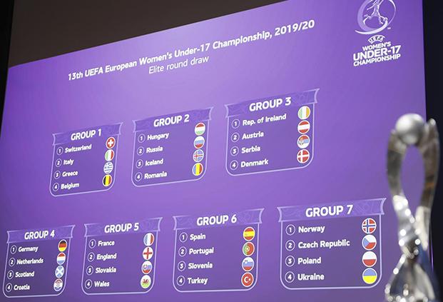 U17 - Tour Elite : Angleterre, Slovaquie et Galles pour la FRANCE