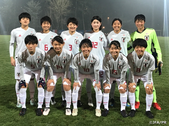 U17F - Courte défaite face au JAPON