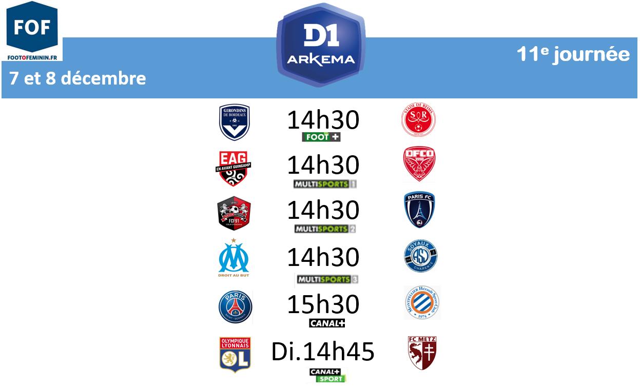 #D1Arkema - J11 : SOYAUX renverse la tendance face à l'OM, le PARIS FC sur le fil