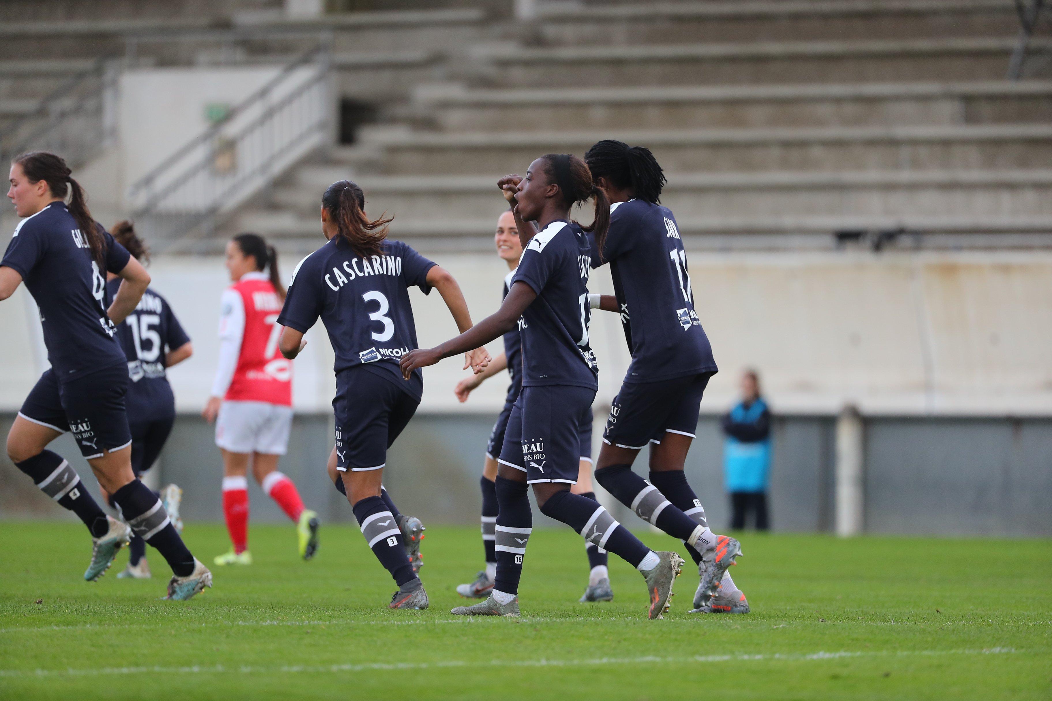 Le doublé pour Asseyi face à Reims (photo FCGB)