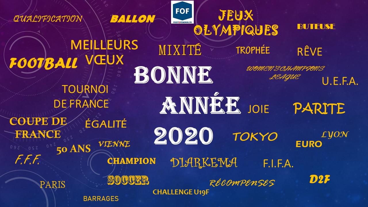 Bonne année et meilleurs voeux pour 2020