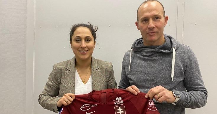 Jessica Silva et Michaël Maurice vont essayer de maintenir l'équipe en D1 (photo FC Metz)