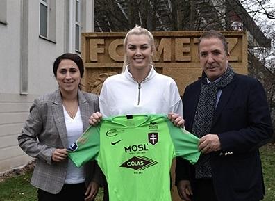 La nouvelle gardienne Devon Kerr (Photo FC Metz)