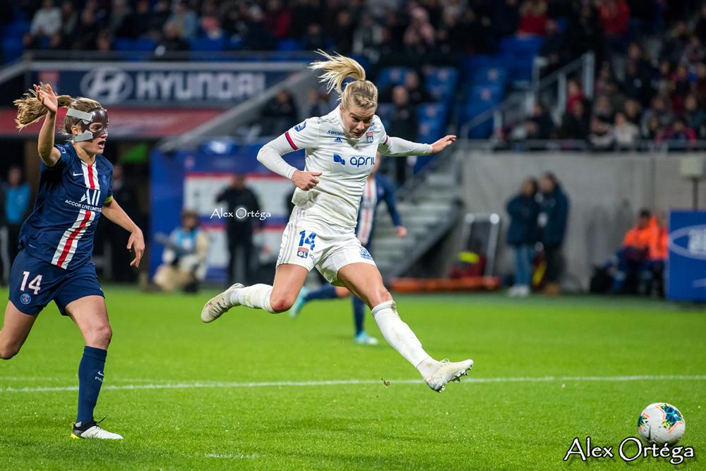 Ada Hegerberg a inscrit 14 buts en 13 matchs