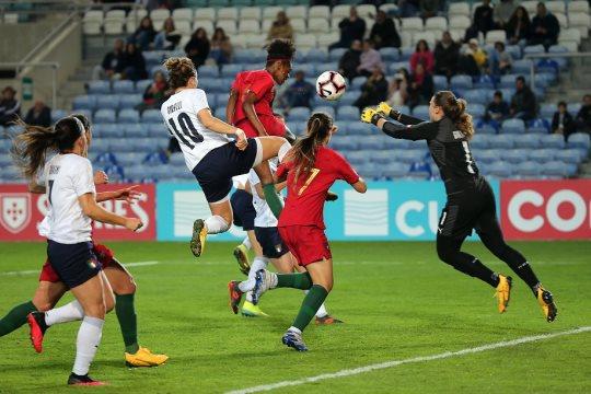 Diana avait ouvert le score pour le Portugal (photo FPF)