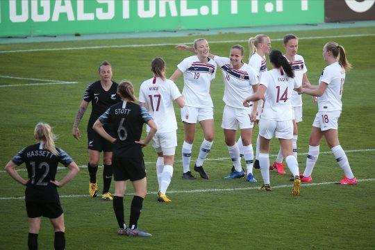 La Norvège termine sur le podium du tournoi (photo FPF)