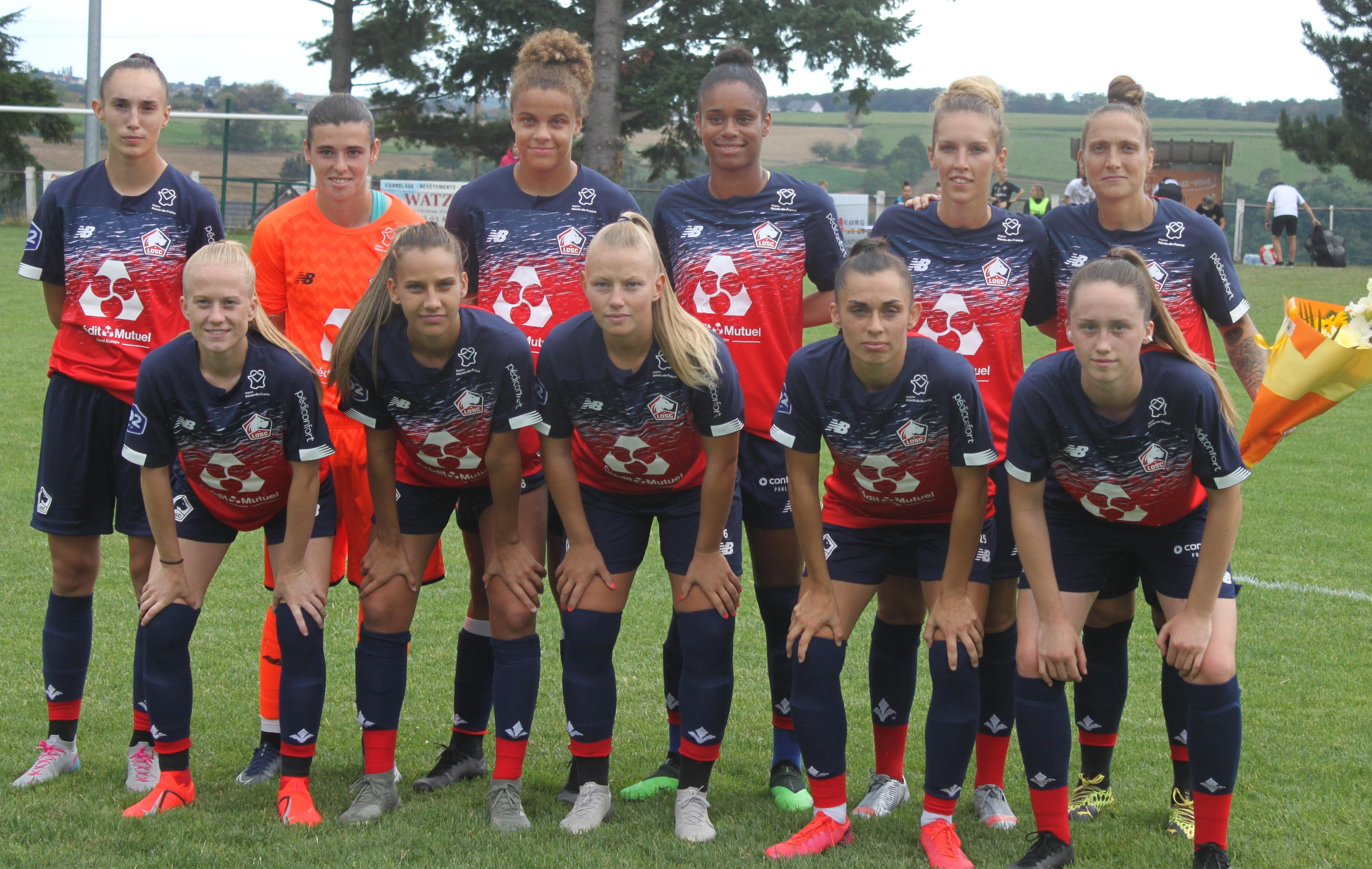 Women's Cup Grand Est - FLEURY domine le LOSC
