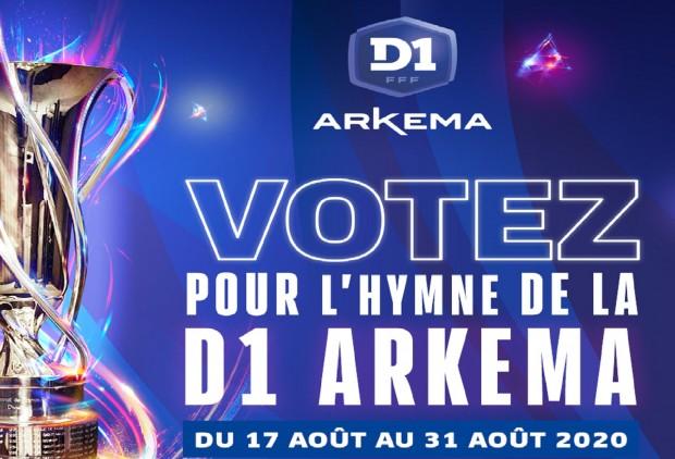 #D1Arkema - Choisissez l'hymne officiel de la D1