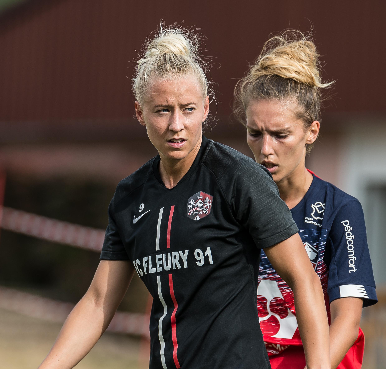 Julia Spetsmark a marqué deux buts en préparation (photo Gianni Pablo)