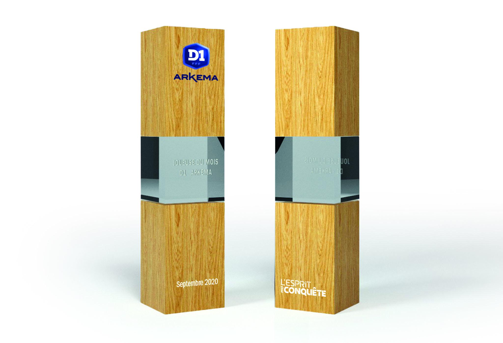 #D1Arkema - Nouveauté : le trophée de la meilleure joueuse du mois