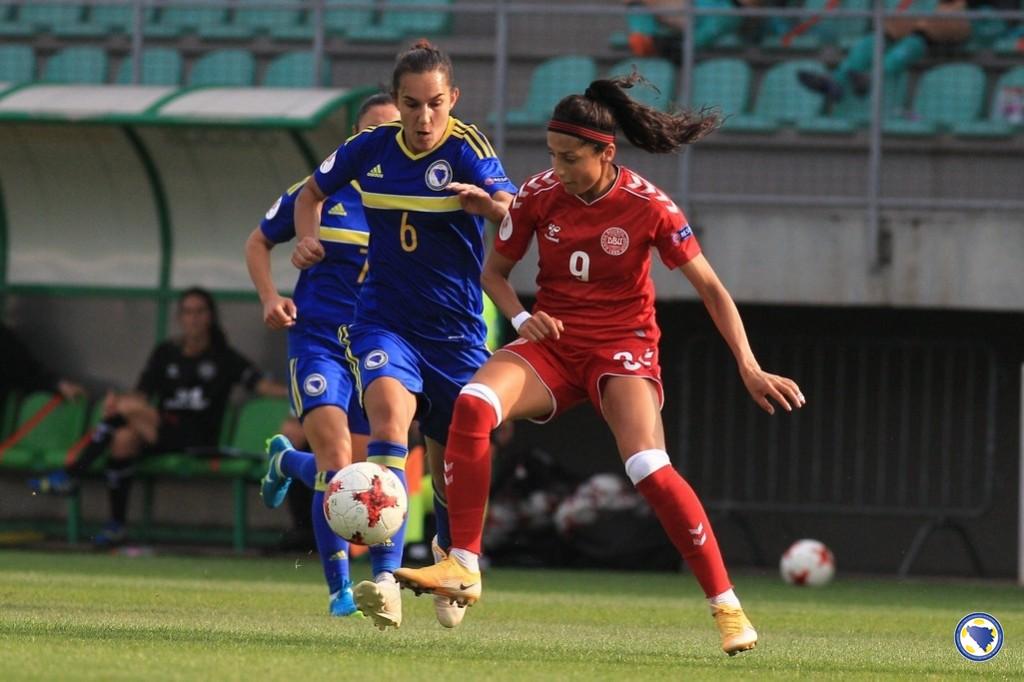 La Parisienne Nadim a ouvert le score sur penalty