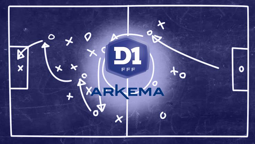 #D1Arkema - NOUVEAUTE : les statistiques de la 3e journée